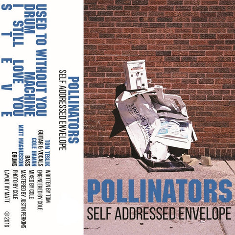 Pollinators - Self Addressed Envelope - New Cassette 2019 Clear Tape - Indie Rock