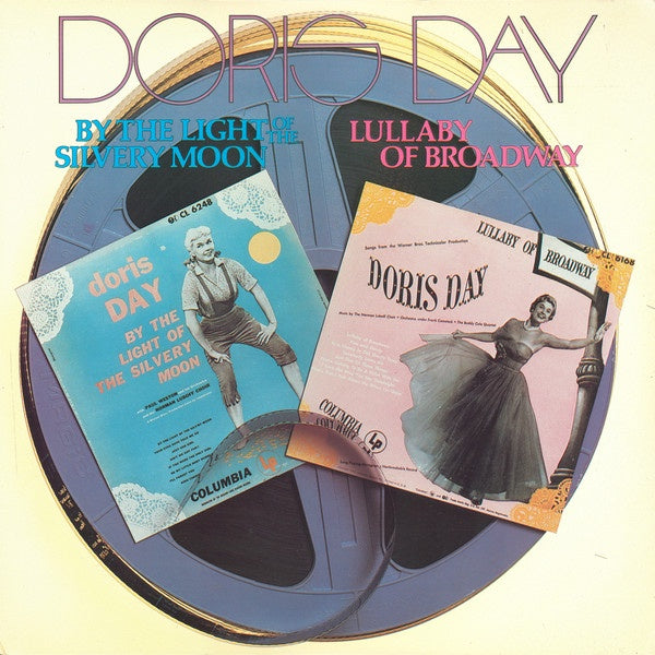 Doris Day ‎– By The Light Of The Silvery Moon / Lullaby Of Broadway - New Lp Record 1985 CBS USA Vinyl - Jazz Vocal / Pop