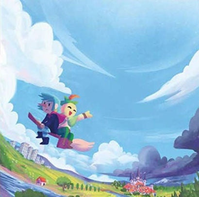 A Shell in the Pit - Wandersong -  New LP Record 2019 Ghost Ramp USA Translucent Turquoise Vinyl - Video Game Soundtrack