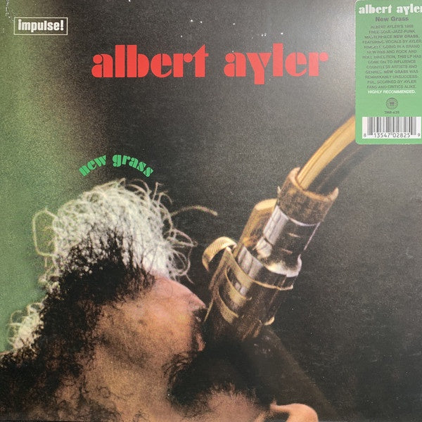 Albert Ayler ‎– New Grass (1969) - New Lp Record 2020 Third Man USA Black Vinyl - Jazz / Free Jazz