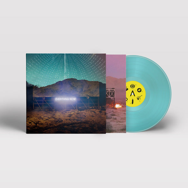 Arcade Fire - Everything Now (Night Version) - New Vinyl 2017 Columbia Records Gatefold Limited Edition 180gram Blue Vinyl Pressing - Indie Rock / Baroque Pop
