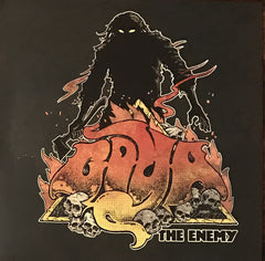 Goya - The Enemy - New Vinyl 2017 STB Records 1st Press on Black / Yellow Swirl Vinyl, LTD to 200 Copies - Doom / Stoner Metal