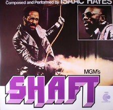 Soundtrak / Isaac Hayes - Shaft- New Vinyl 2017 Concord Music Group 2-LP 180gram Reissue Remastered Audio - Soul / Funk