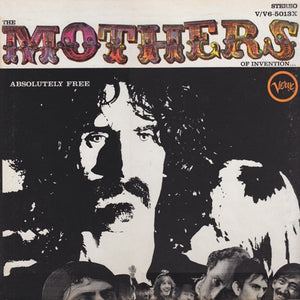 Frank Zappa / The Mothers Of Invention ‎– Absolutely Free - VG+ Lp Record 1967 USA Stereo Original Vinyl - Rock / Avantgarde