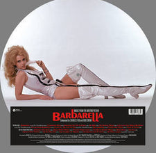 Soundtrack - Barbarella - New Vinyl 2016 Varese Sarabande RSD Black Friday Jane Fonda Picture Disc, LTD to 2000 Copies.