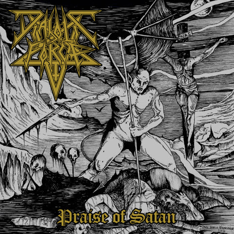 Diabolic Force ‎– Praise Of Satan - New LP Record Hell's Headbangers 2019 Vinyl Reissue - Brazilian Death Metal / Thrash