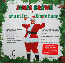 James Brown ‎– A Soulful Christmas - New Vinyl 2014 Polydor Reissue - Holiday / Soul / Funk
