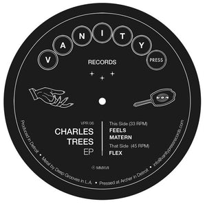 Charles Trees ‎– Charles Trees EP - New Lp Record 2017 Vanity Press USA Vinyl - Detroit House