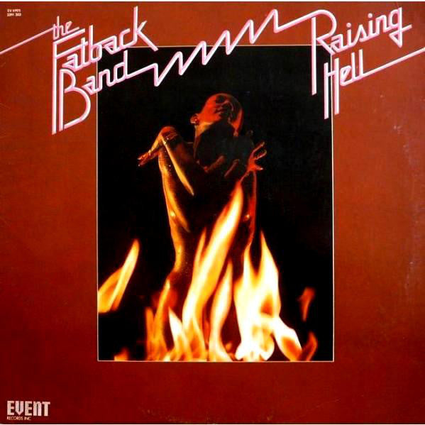 The Fatback Band - Raising Hell - VG 1975 Stereo USA - Funk