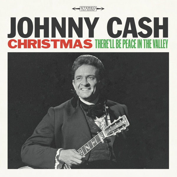 Johnny Cash - Christmas: There'll Be Peace In The Valley (1962) - New Vinyl Record 2016 Legacy Recordings Reissue - Country / Christmas