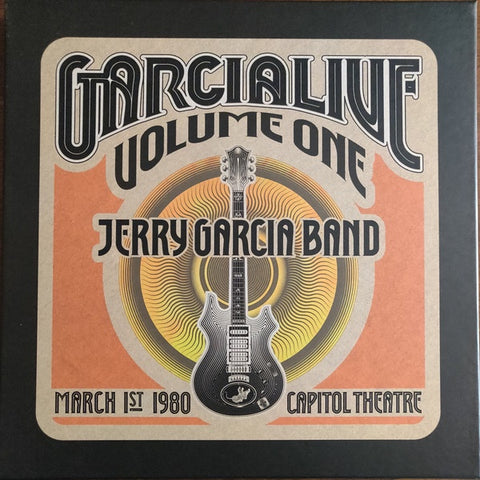 Jerry Garcia Band ‎– GarciaLive Volume One: March 1st, 1980 - Mint- 5 LP Record Store Day Black Friday Box Set 2019 Round USA RSD 180 gram Vinyl & Numbered - Psychedelic Rock / Folk Rock / Country Rock