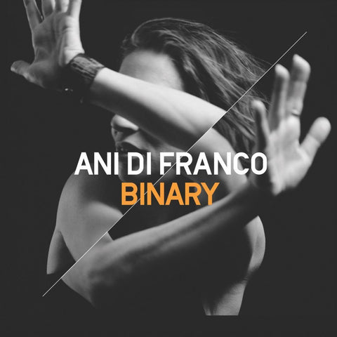 Ani DiFranco ‎– Binary - New Vinyl Record 2017 Righteous Babe 2LP Pressing with Etched 4th Side - Folk Rock