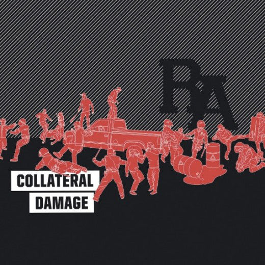 Rude Awakening (RA). ‎– Collateral Damage - New Vinyl 2014 USA (Unknown Color Of Vinyl) - Hardcore