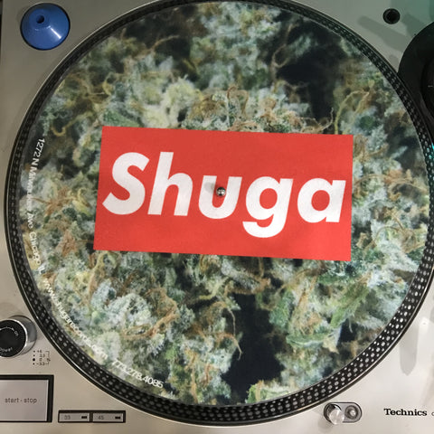 Shuga Records 2018 Limited Edition Vinyl Record Slipmat Nugz