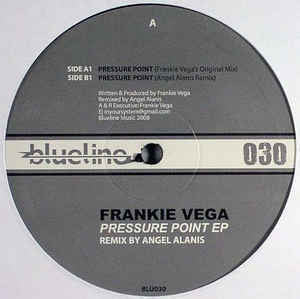 "Frankie Vega ‎– Pressure Point EP - Mint 12"" Single USA 2008 - Chicago Techno"