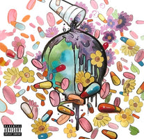 Future, Juice WRLD ‎– WRLD On Drugs - New Vinyl 2 Lp 2019 Limited Import Pressing on Clear Vinyl - Hip Hop / Trap