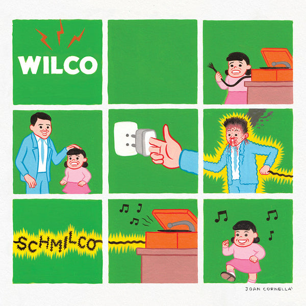 Wilco - Schmilco - New Vinyl Record 2016 dBpm Records Limited Edition Opaque Pink Vinyl w/ Gatefold Cover + Download - Alt-Rock / Indie / Alt-Country