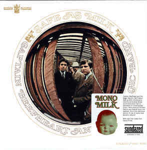 Captain Beefheart And His Magic Band ‎– Safe As Milk - New Vinyl 2013 Sundazed 180Gram Mono Reissue with Original Insert & Bumper Sticker - Psychedelic Rock