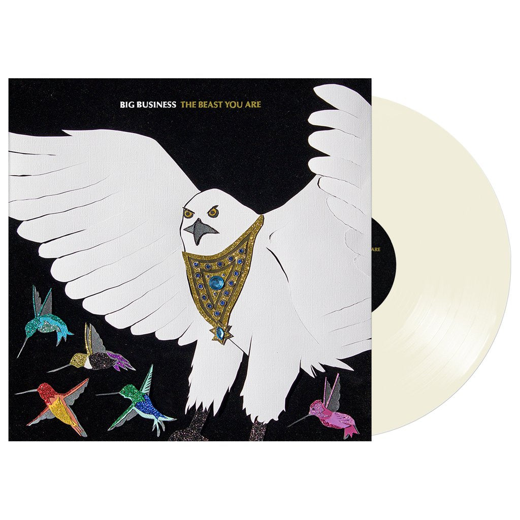 Big Business - The Beast You Are - New Lp Record 2019 Joyful Noise Bone Colored Vinyl, Poster & Download - Heavy Metal / Sludge Metal / Stoner Rock