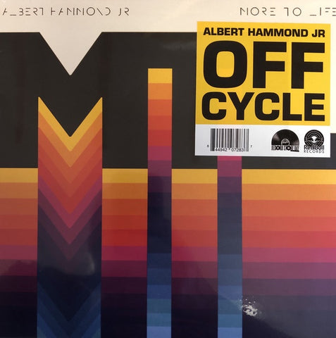 "Albert Hammond, Jr. - Off Cycle - New 10"" Single Record Store Day Black Friday 2019 Red Bull USA RSD USA Colored Vinyl - Alternative Rock"