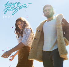Angus & Julia Stone - Snow - New Vinyl 2017 Nettwerk Records 2-LP 45rpm 180gram White Vinyl Pressing - Indie Pop / Folk