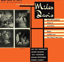 "Miles Davis ‎– Young Man With A Horn (1952) - New Vinyl 2014 Blue Note '75th Anniversary' Mono 10"" Reissue - Jazz / Bop"