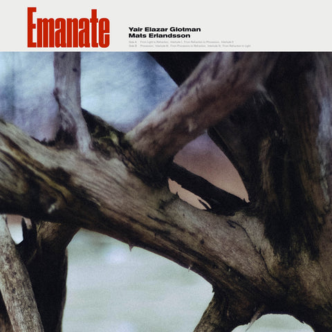 Yair Elazar Glotman & Mats Erlandsson ‎– Emanate - New LP Record 2020 130701 Europe Import Vinyl - Modern Classical