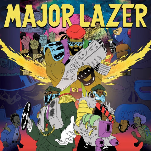Major Lazer ‎– Free The Universe - New 2 LP Record 2013 Secretly Canadian USA Black Vinyl - Electronic / Dancehall / Dub