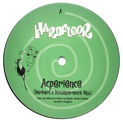"Hardfloor ‎– Acperience - VG+ 12"" Single Record 1997 UK Import Vinyl - Acid House"