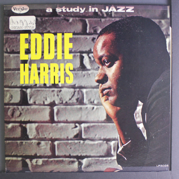 Eddie Harris ‎– A Study In Jazz (Chicago Style) - VG 1962 Mono USA Original Press - Jazz