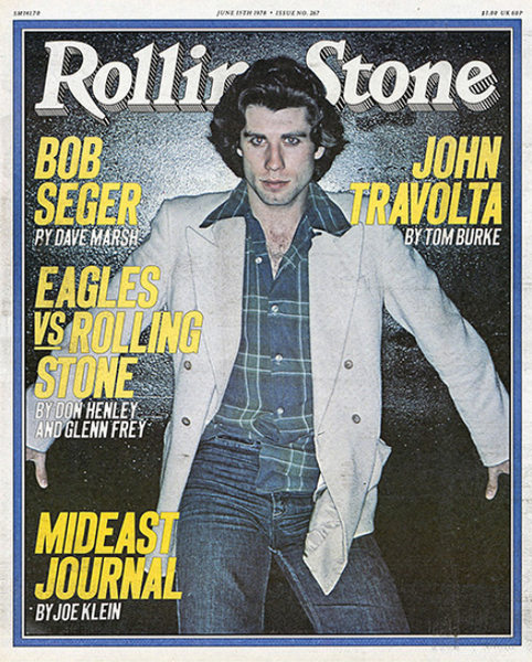 Rolling Stone Magazine - Issue No. 267 - John Travolta