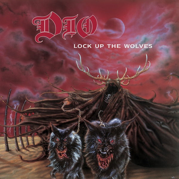 Dio - Lock Up The Wolves (1990) - New Vinyl Lp 2018 Rhino 'ROCKtober Exclusive' Remastered Pressing on Gray Vinyl - Metal
