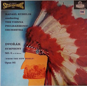 Rafael Kubelik & The Vienna Philharmonic ‰ÛÒ Dvorak - New World Symphony - VG+ 1958 Stereo (UK ffss Blue Black) - Classical