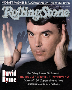 Rolling Stone Magazine - Issue No. 524 - David Byrne