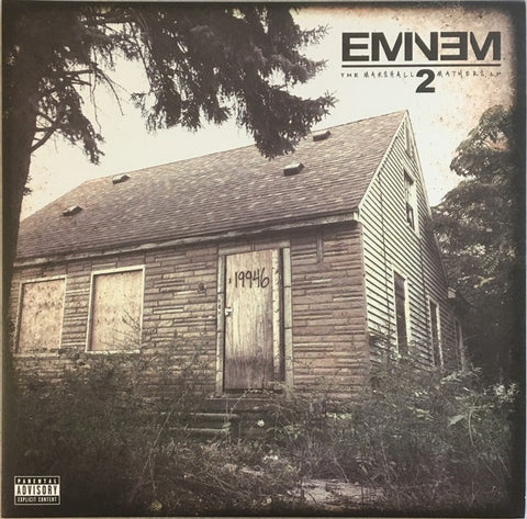 Eminem ‎– The Marshall Mathers LP 2 - New 2 LP Record 2013 Aftermath US Vinyl - Hardcore Hip-Hop