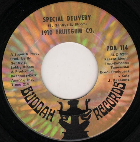1910 Fruitgum Co. ‎– Special Delivery / No Good Annie - VG+ 45rpm 1969 USA - Pop Rock