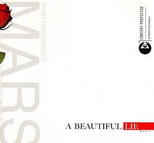Thirty Seconds To Mars - A Beautiful Lie (2005) - New LP Record 2019 Limited Edition Red Vinyl Reissue - Alt-Rock
