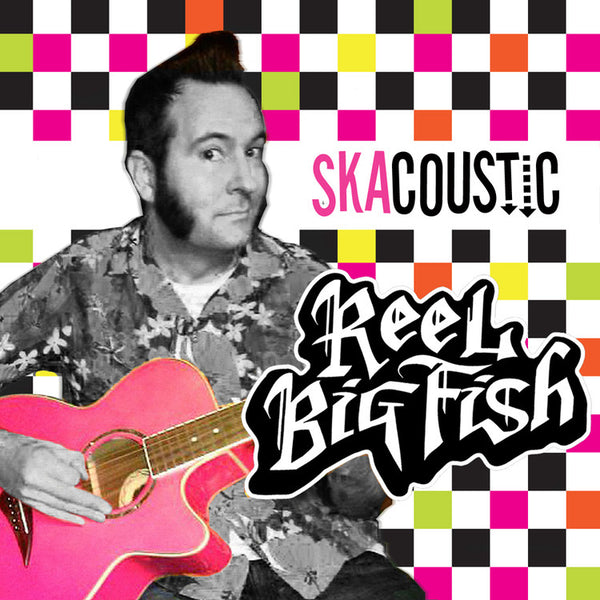 Reel Big Fish - SkaCoustic - New Vinyl Record 2016 Rock Ridge Music Gatefold 2-LP White + Blue Vinyl - Ska Punk