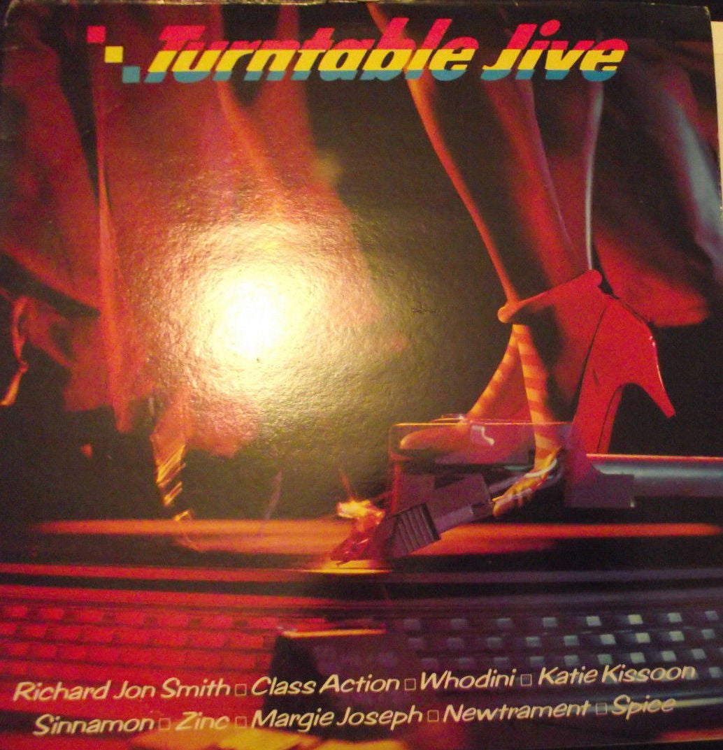Various ‎– Turntable Jive - Mint- 1983 Stereo USA Original Press Record - Hip Hop / Electro