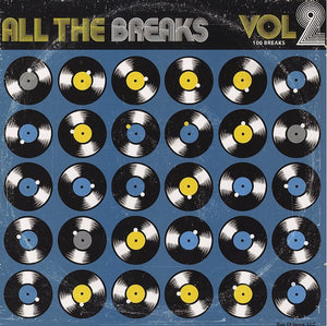 Various - All The Breaks Vol. 2 - New Vinyl Lp 2012 Bag of Items Pressing - Drum Breaks / DJ Battle Tools