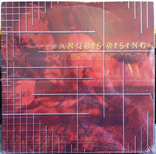 Anubis Rising ‎– Scales Of Truth - New Lp Record 2002 Transgalactic Ladder USA Clear Marbled Grey Vinyl - Metal / Psychedelic Rock / Post Rock
