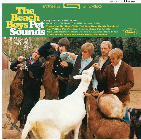 The Beach Boys - Pet Sounds - New Vinyl 2016 50th Anniversary Limited Edition STEREO VERSION Reissue - Surf Rock