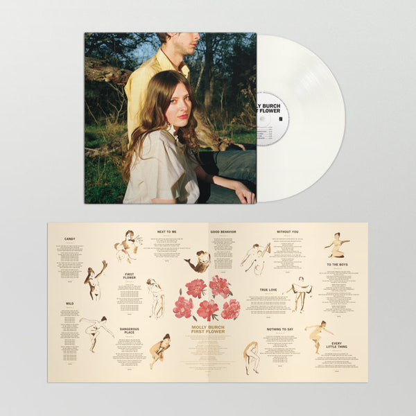 Molly Burch ‎– First Flower - New Lp Record 2018 Captured Tracks USA Vinyl & Download - Indie Rock