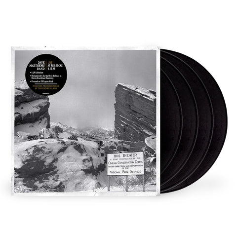 Dave Matthews Band ‎– Live At Red Rocks 8.15.95 - New 4 Lp Record 2017 Bama Rags USA Vinyl & Download - Alternative Rock