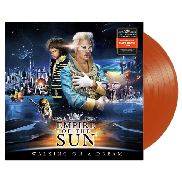 Empire of The Sun - Walking On A Dream - New Vinyl Lp 2019 Limited 10th Anniversary Reissue on 180gram Transparent 'Blood Orange' Vinyl - Electro / Synth-Pop / New Wave