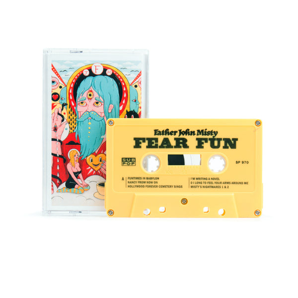 Father John Misty - Fear Fun (2012) - New Cassette 2016 Press (Limited Edition YELLOW) USA - Rock