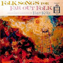 The Fred Katz Orchestras ‎– Folk Songs For Far Out Folk - VG+ LP Record 1959 Warner USA Vinyl - Jazz