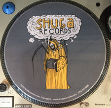 Shuga 2016 Limited Edition Slipmat (1st Run) - Uncle Bunny (Grey/Yellow)