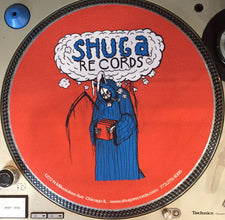 Shuga 2016 Limited Edition Slipmat (1st Run) - Uncle Bunny (Blue/Orange)
