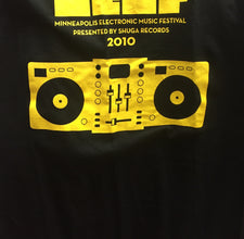 MEMF (Minneapolis Electronic Music Festival) - Black T-Shirt - All Sizes